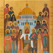 В наш храм была привезена икона «Собор Мордовских святых»