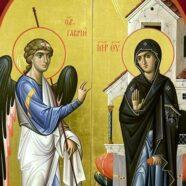 Протоиерей Андрей Копейкин поздравил верующих с праздником Благовещения Пресвятой Богородицы