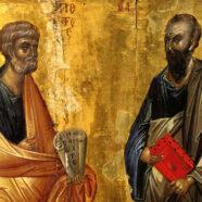 Протоиерей Андрей Копейкин поздравил верующих с праздником славных и всехвальных первоверховных апостолов Петра и Павла