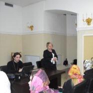 В Юго-Западном благочинии г. Саранска для девушек прошел семинар «Культурные традиции семьи»