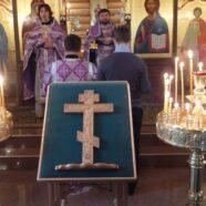 Протоиерей Андрей Копейкин поздравил верующих с праздником Воздвижения Честного и Животворящего Креста Господня
